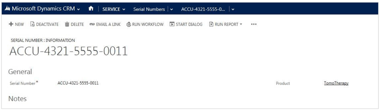 Customizable Serial Number Entity in Microsoft CRM