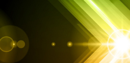 Yellow Green Light Reflection Thumbnail