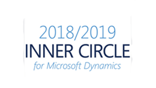 Microsoft Dynamics Inner Circle Awart 2018