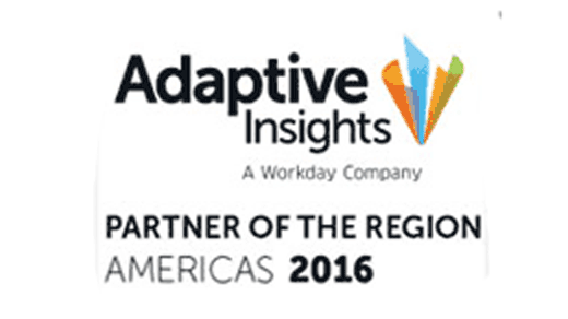 Adaptive Insights Partner of the Region Award Armanino