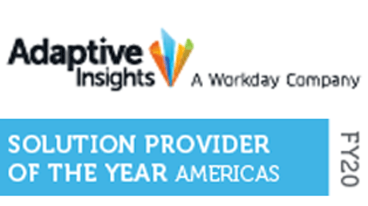 Adaptive Insights Provider of the Year Award