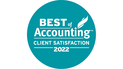 Best of Accounting Client Satisfaction Award