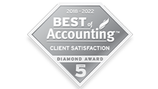 Best of Accounting Client Satisfaction Diamond Award