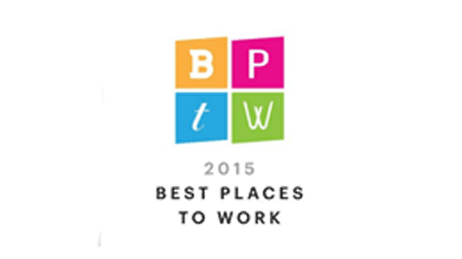 BPTW 2015 Best Places to Work Award
