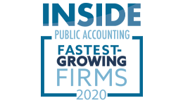 Inside Public Accounting Fastest Growing Firms Award Armanino