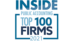 Inside Public Accounting Top 100 Firms Award