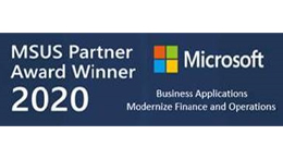 2020 Microsoft US Partner Award