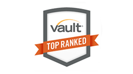 Vault Top Ranked Award