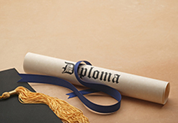 Diploma and Grad Cap Thumbnail