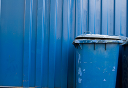 Blue Trash Can Thumbnail