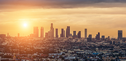 Los Angeles Sunset Skyline