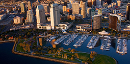 San Diego Port Skyline