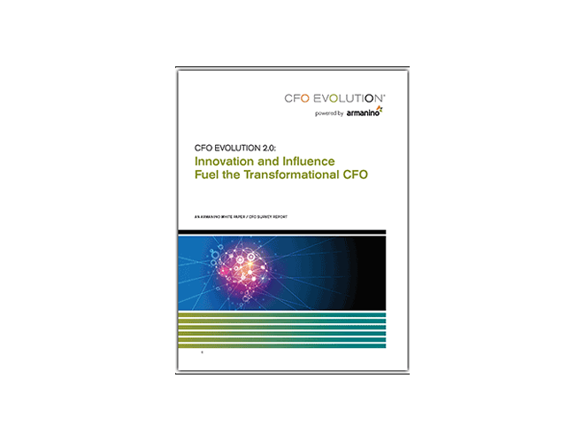 CFO Evolution 2.0 Innovation and Influence Fuel the Transformational CFO