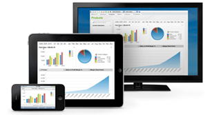QlikView BI allows access to your business data on Desktop, Tablet, or Phones.