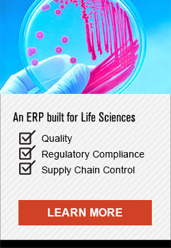 An ERP Built for Life Sciences - Learn More CTA