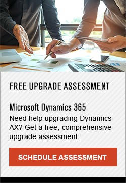 Free Upgrade Assessment - Microsoft Dynamics 365 - Schedule Assessment CTA