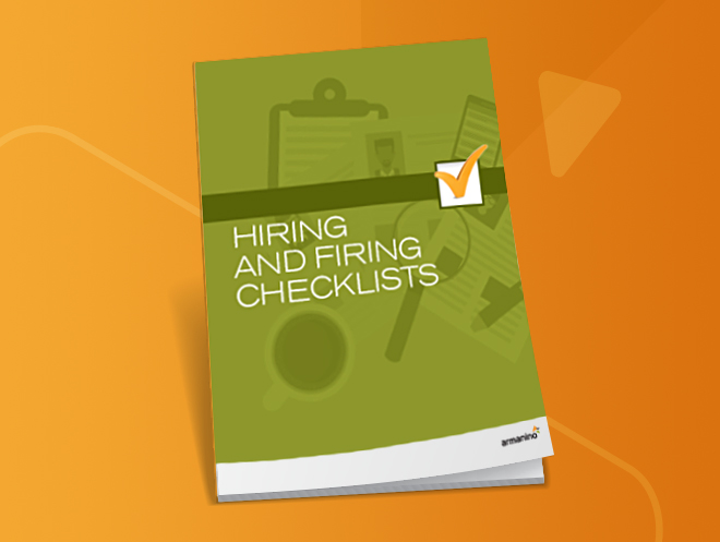 Hiring and Firing Human Resources Checklist