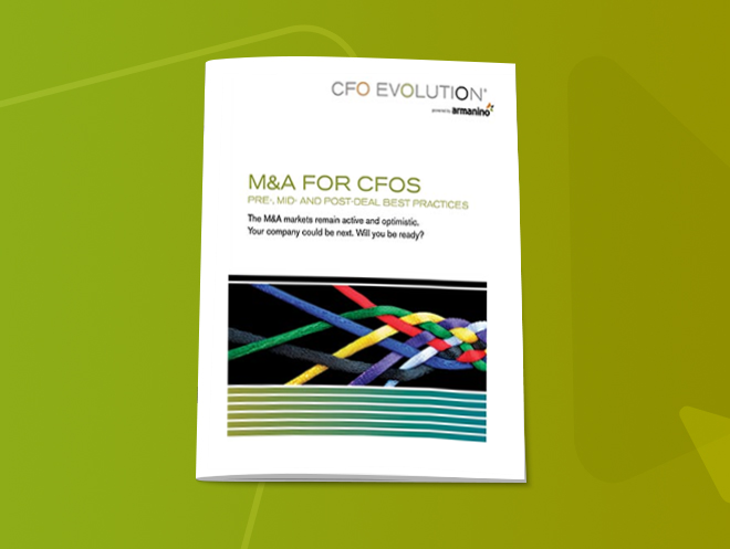 M&A for CFOs CFO Evolution White Paper