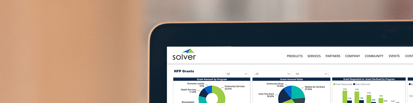 Solver Financial Planning and Analysis Software