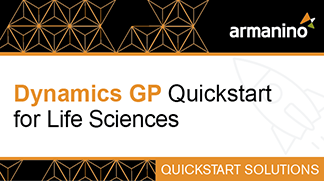 Armanino's Marketplace - Dynamics GP Quickstart for Life Sciences Badge