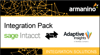 Armanino's Marketplace - Integration Pack for Intacct and Adaptive Insights Badge