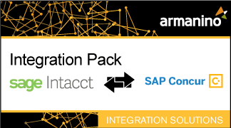 Armanino's Marketplace - Integration Pack for Sage Intacct and SAP Concur Badge