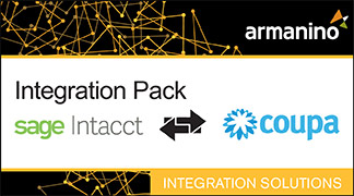 Armanino's Marketplace - Integration Pack for Intacct and Coupa Badge