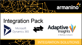 Armanino's Marketplace - Integration Pack for Microsoft Dynamics AX and Adaptive Insights Badge