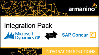 Armanino's Marketplace - Integration Pack for Microsoft Dynamics GP and SAP Concur Badge
