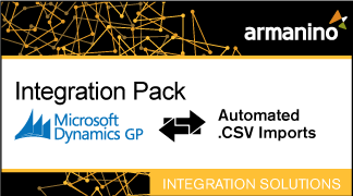 Armanino's Marketplace - Integration Pack for Microsoft Dynamics GP and CSV Imports Badge