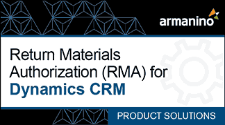Armanino's Marketplace - Return Materials Authorization for Dynamics CRM Badge