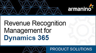 Armanino's Marketplace - Revenue Recognition Management for Dynamics AX Badge