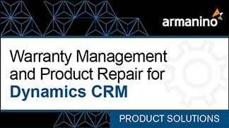 Armanino's Marketplace - Warranty Management and Product Repair for Dynamics CRM Badge