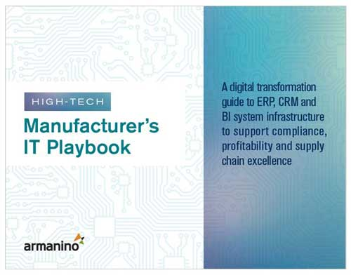 High-Tech Manufacturers IT Playbook Cover