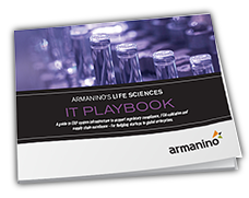 Armanino's Life Sciences IT Playbook Cover