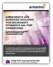 Life Sciences Solution for Microsoft Dynamics 365 - Operations