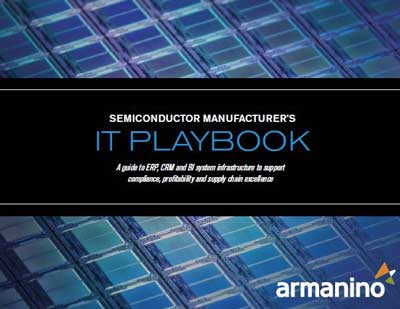 The Semiconductor Manufacturer's IT Playbook Cover