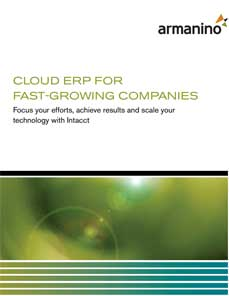 Cloud ERP for Fast-Growing Companies
