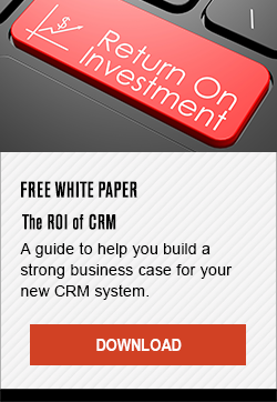 Free White Paper - The ROI of CRM