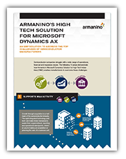 High-Tech Solution for Microsoft Dynamics AX
